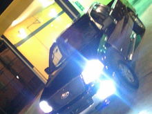 Had just put in the fogs HID's
