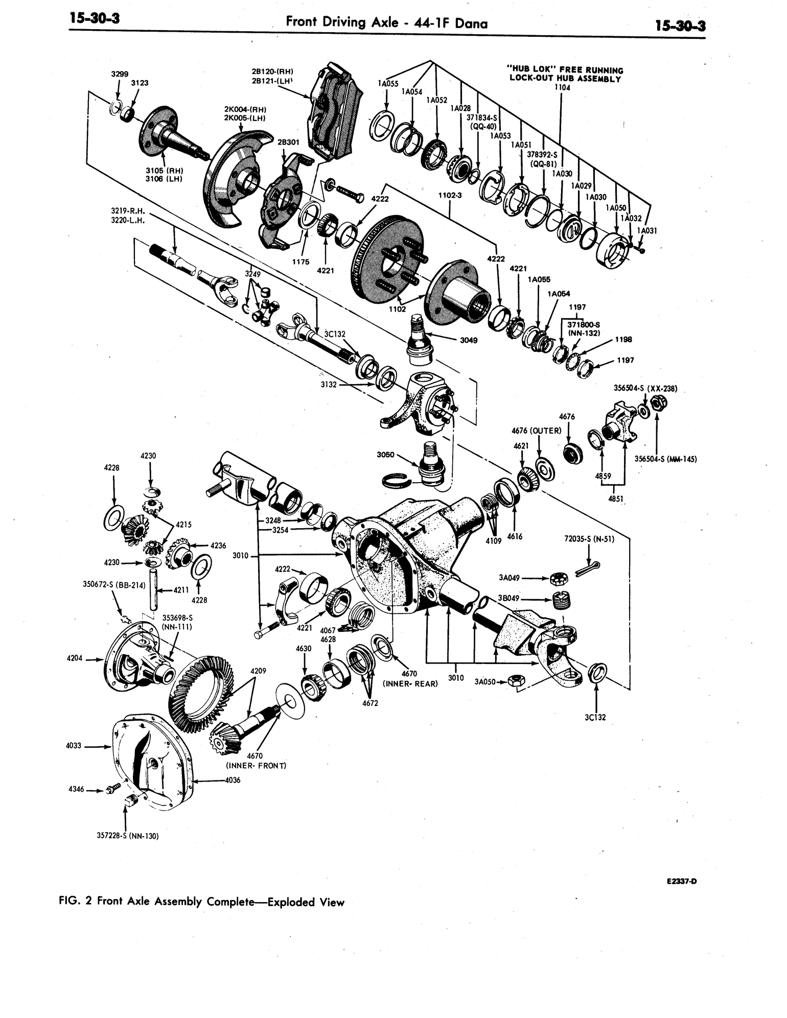 front end diagram for ford f150