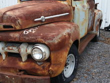 52 Ford F1 extended cab