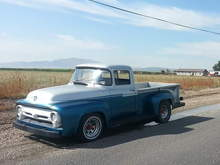 1956 F100 Long Bed