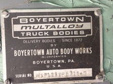 Boyer the 1968 Hostess Cake truck- Boyertown P 3500/ G 350
