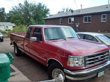 My 92 Ford F-150, exstended cab longbed 5.8 XLT 2WD