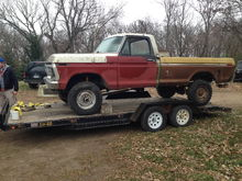 """1976 F250 Highboy Project """"The Barnacle"""""""