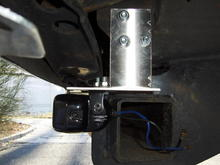 Auxiliary Reverse Light Custom Bracket
