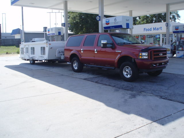 Wondering what size travel trailers and fifth wheels you tow with your 7 3l page 3 ford