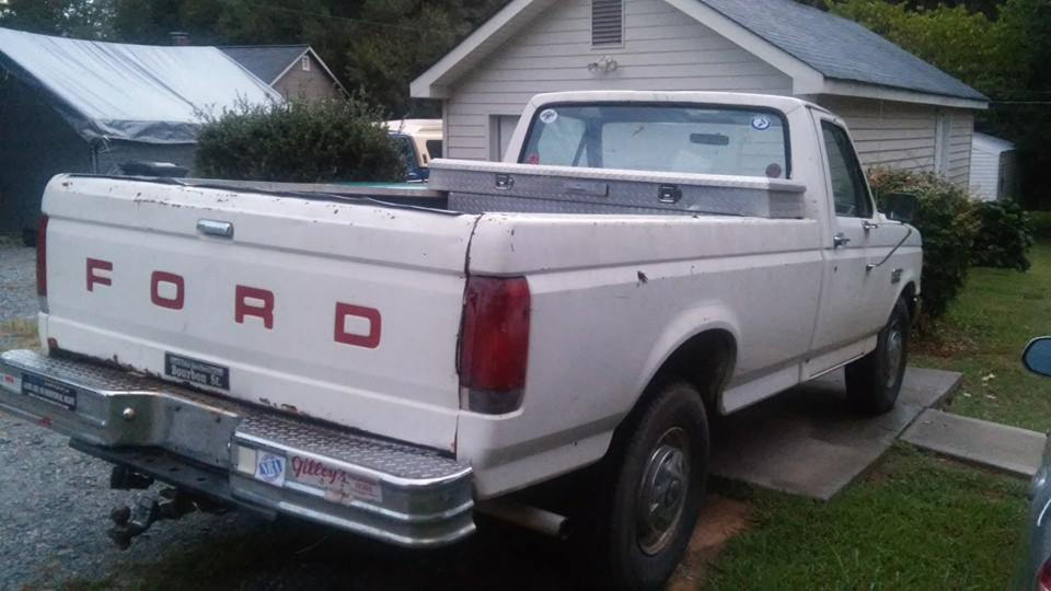New Here 1988 F 250 Bench Seat Ford Truck Enthusiasts