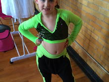 Loralei's hip hop recital outfit this year