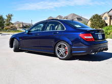 2012 C63 AMG P31 Lunar Blue Metallic