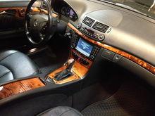 2005 E5004M restored interior