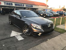 2016 S550 with 22' RF rims