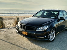 2012 C300 4MATIC - Black on Black