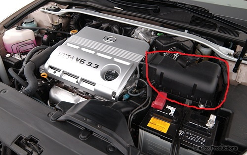 lexus es how to change air filter and cabin air filter clublexus replacing an air filter