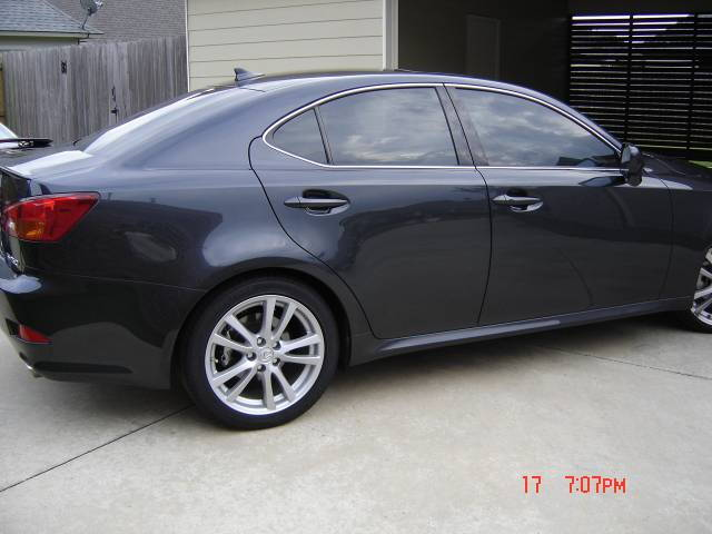 Lexus window tint modifications clublexus for 20 window tint at night