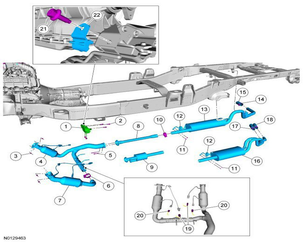 2013 Ford F 150 Catalytic Converter Diagram on 2001 ford escape exhaust diagram