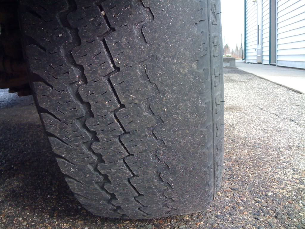 Uneven Tire Wear Problems - Ford-Trucks