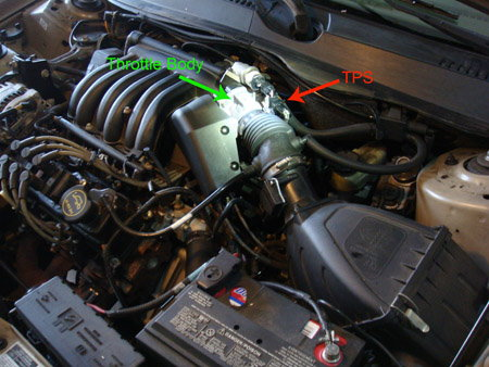 Ford F150 F250 How To Replace Throttle Position Sensor 359990 on fusion wiring diagram