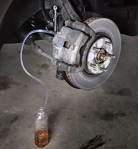 Ford F150 F250: How To Replace The Brake Master Cylinder