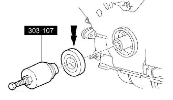 Step 9 Remove Crankshaft Front Seal: 2011 Ford F 150 Ecoboost Engine Diagram At Teydeco.co