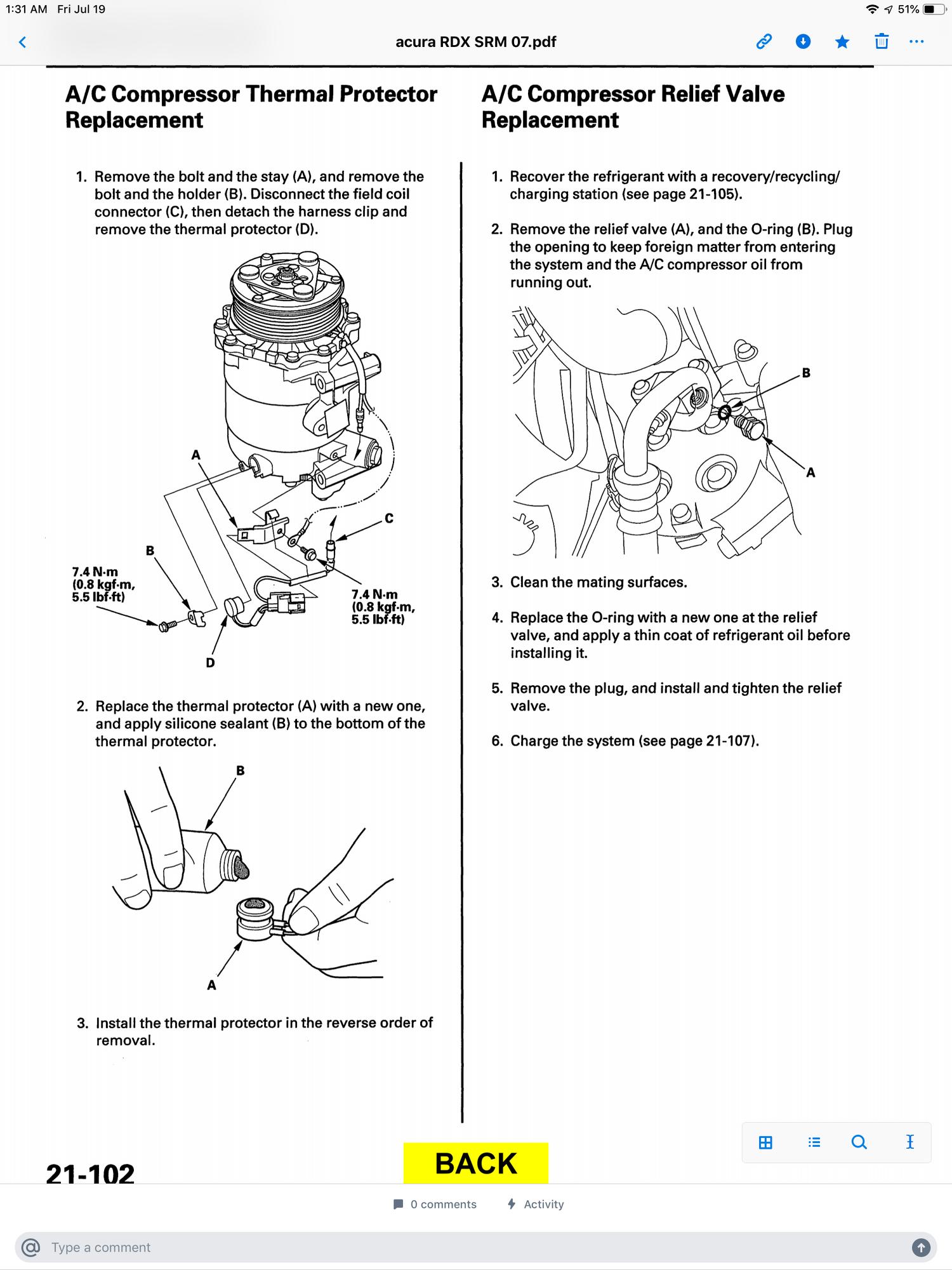 2003 Ford F 150 A C Clutch Cycling Pressure Switch