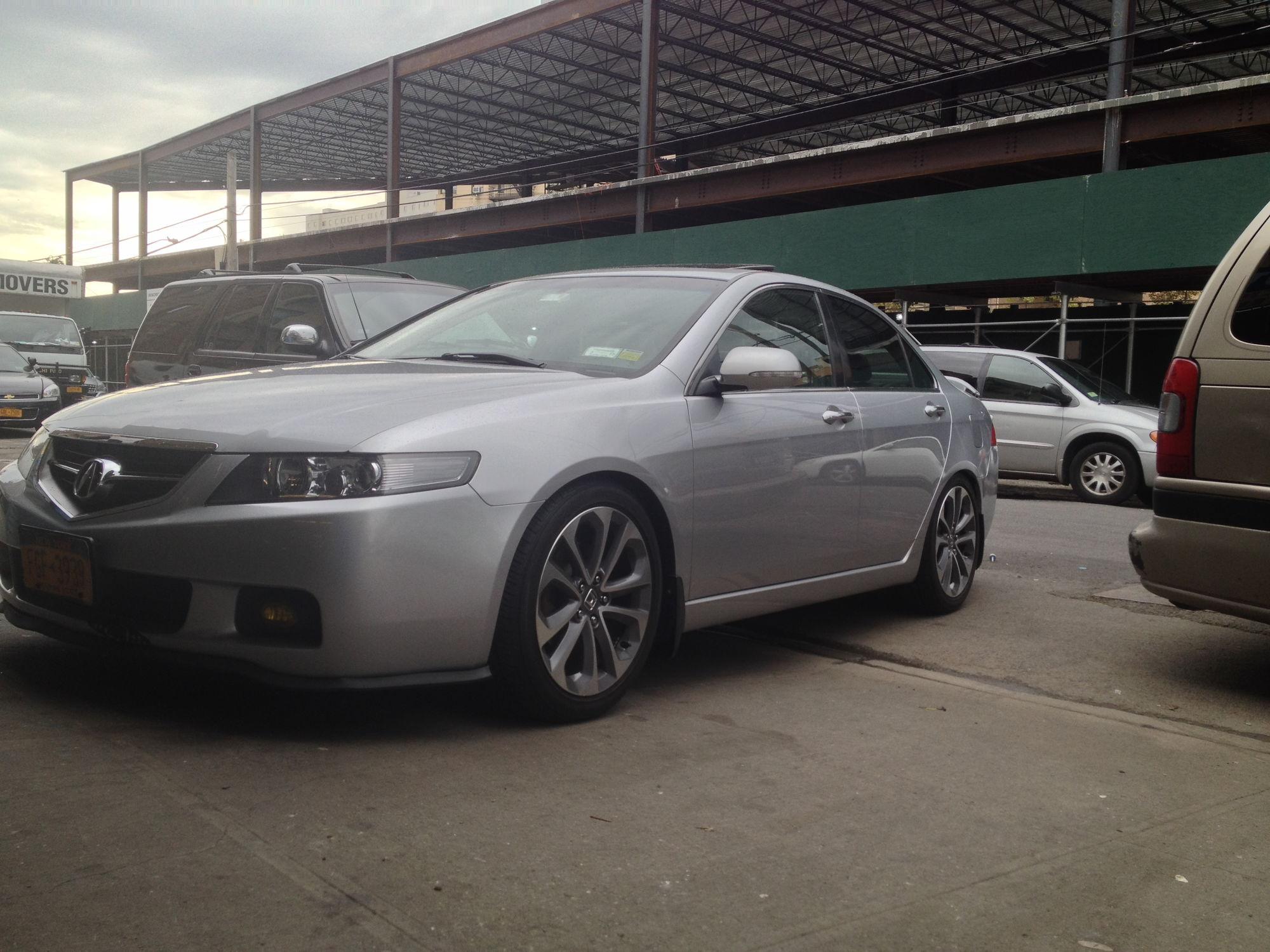My Tsx On 2014 Accord Sport Rims Acurazine Acura