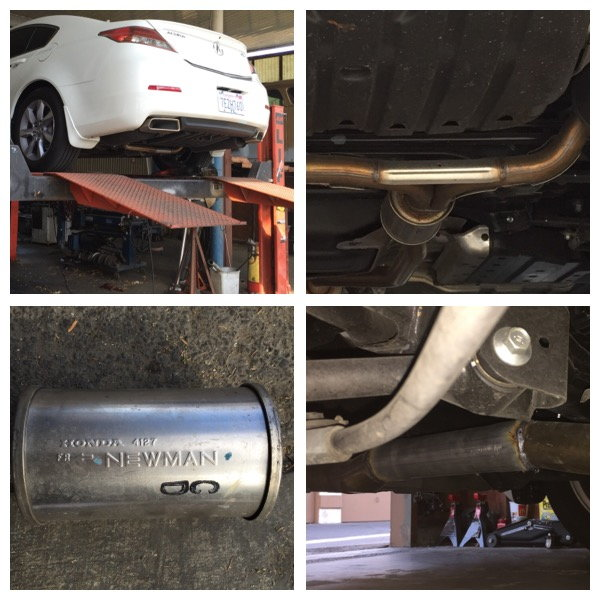 Removing Resonator On Stock Exhaust (Summary Post #1