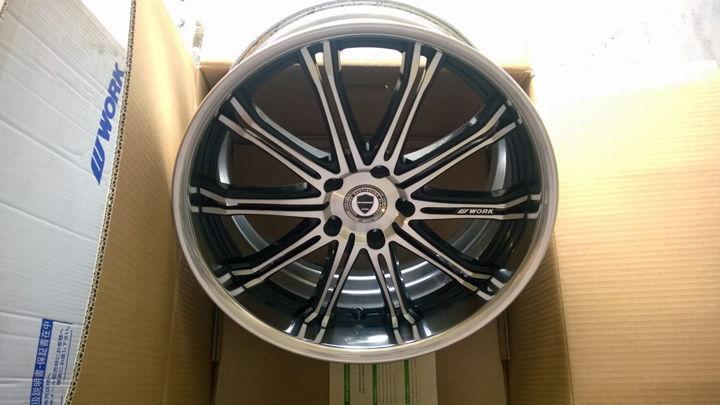 Sold Work Wheels Schwert Sc1 20x8 5 20x9 5 5x120 Acurazine Acura Enthusiast Community