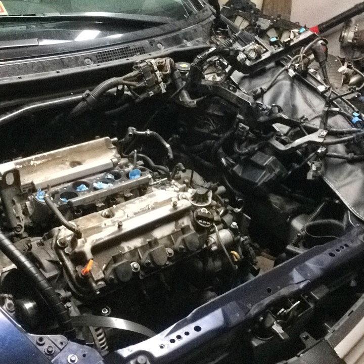 2006 Acura RL Sh AWD Engine Swap
