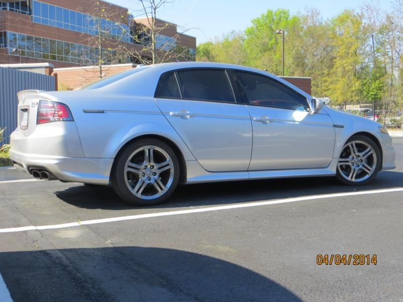 FS: 2008 Silver Acura TL type S 6 speed manual with ...