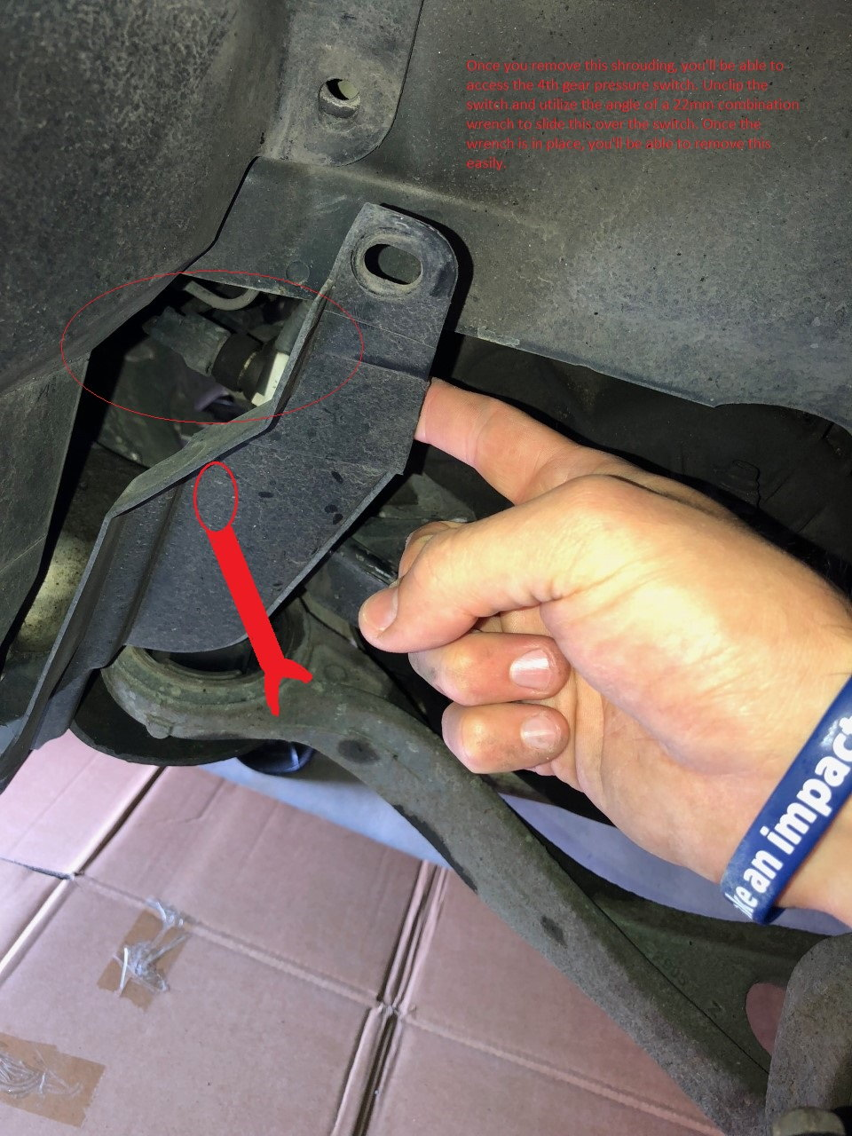 A-110(a): DIY Guide to replacing 3rd & 4th gear pressure