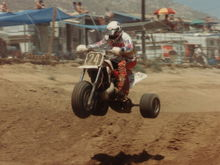 at the score off road championship race in '86