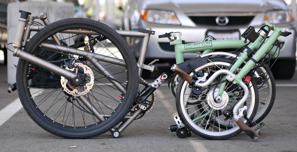 Side By Side Bike