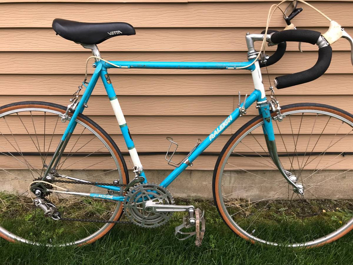 72147350f46 Raleigh Gran Sport, decent condition (no Brooks saddle) $250.  https://philadelphia.craigslist.org/...879377462.html