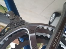 Shimano 600 FD  I have NOT (yet) observed 2-character manufacturing date code.