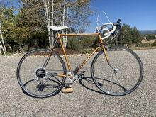 1975 Sekine mod from 10 speed to 7 speed gravel bike