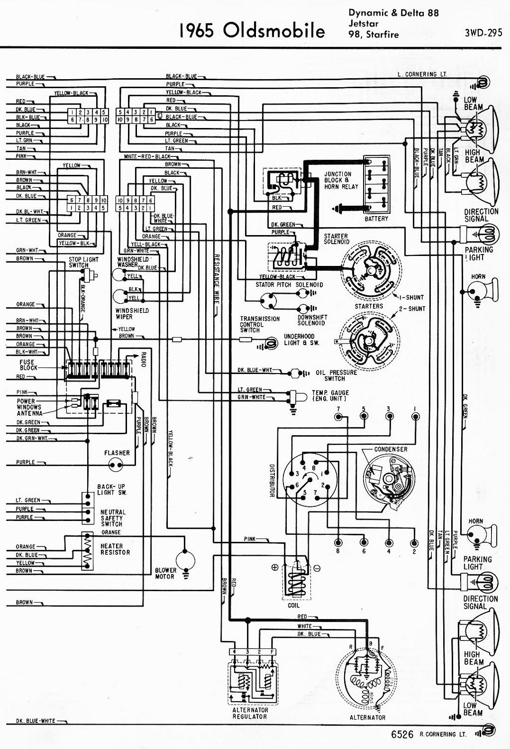 Wiring Diagram For A 1966 Dynamic 88