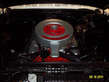 Shot of engine before I installed the factory PCV system (that an owner had removed)