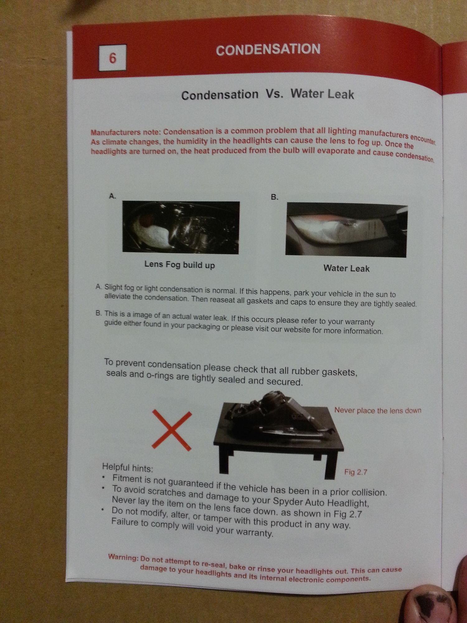 Spyder Auto Black Headlights w Smoked lenses install DodgeForum