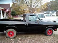 wheels back from powder coat