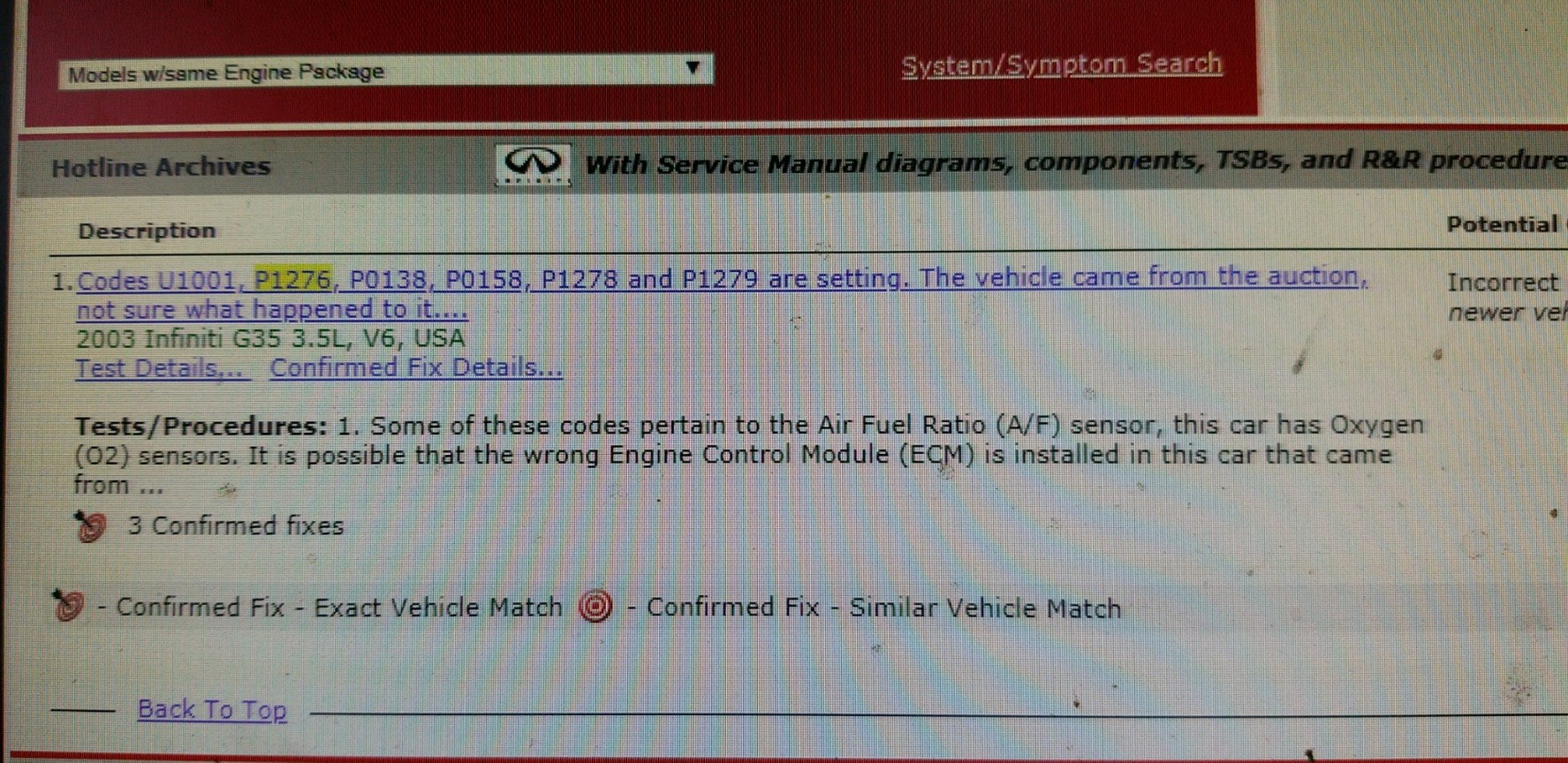 CEL has 11 Codes    Help! - Page 2 - G35Driver - Infiniti G35 & G37