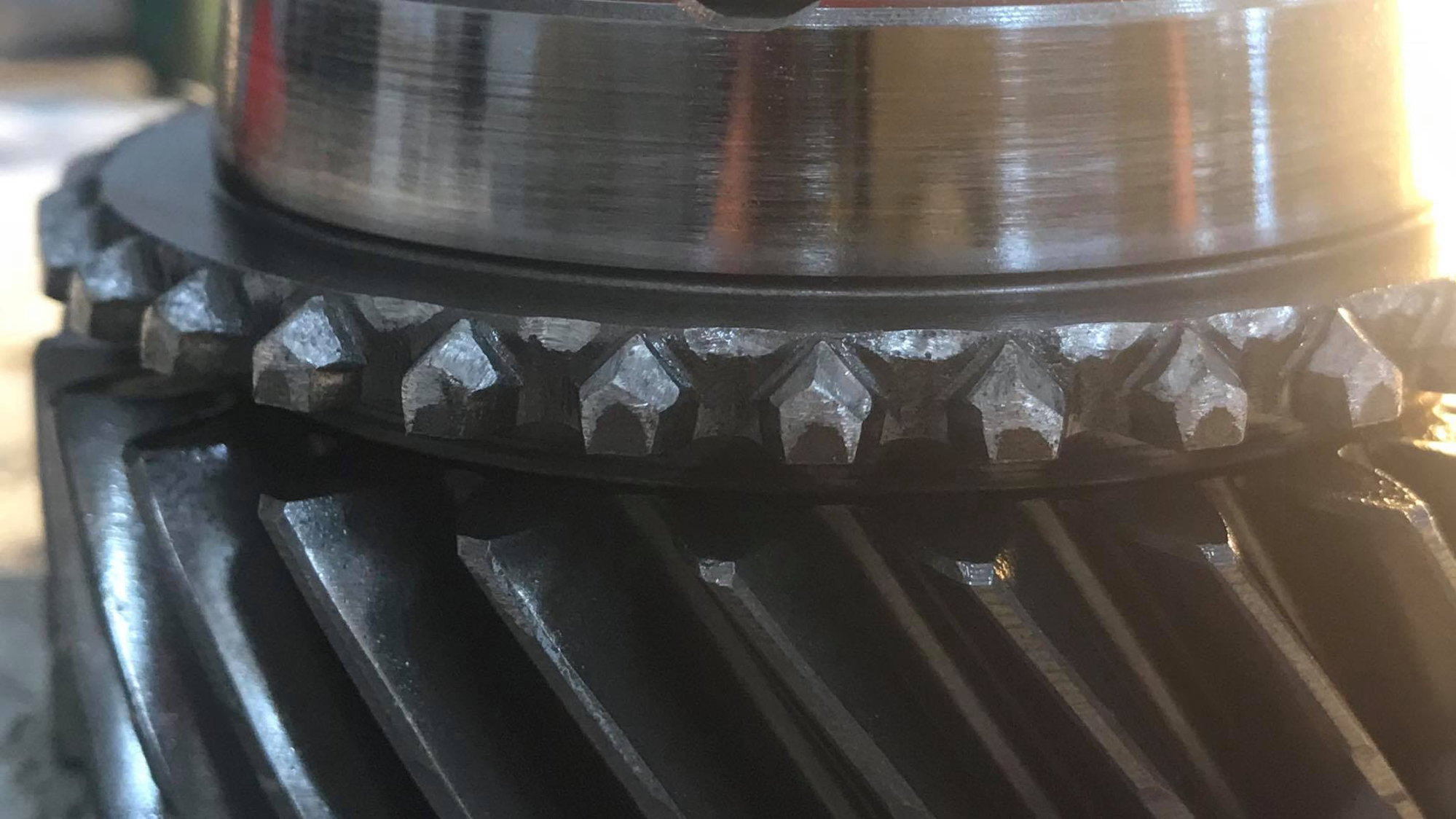 B16 Trans  3rd Gear Grind: Synchro, Gear, Sleeve, etc  Inspection