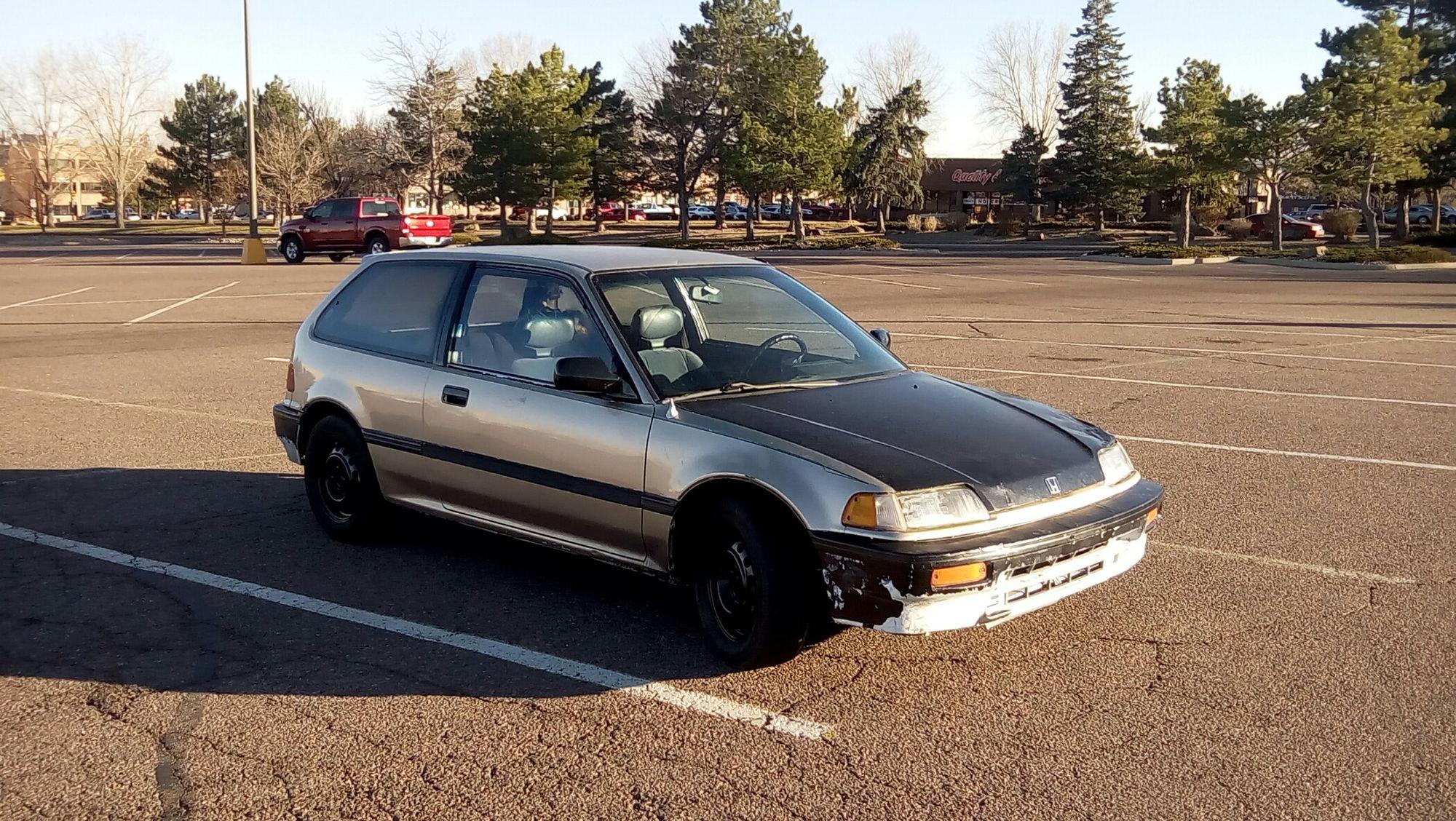 "1989 Civic dx ef hatch Build ""The golden nug"" - Honda-Tech ..."