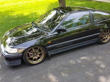 RHD 1988 Honda CRX Si