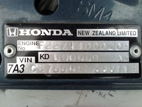 Where To Find Vin Number On Honda Accord >> Decoding Vin All Models 1983 Honda Tech Honda Forum Discussion