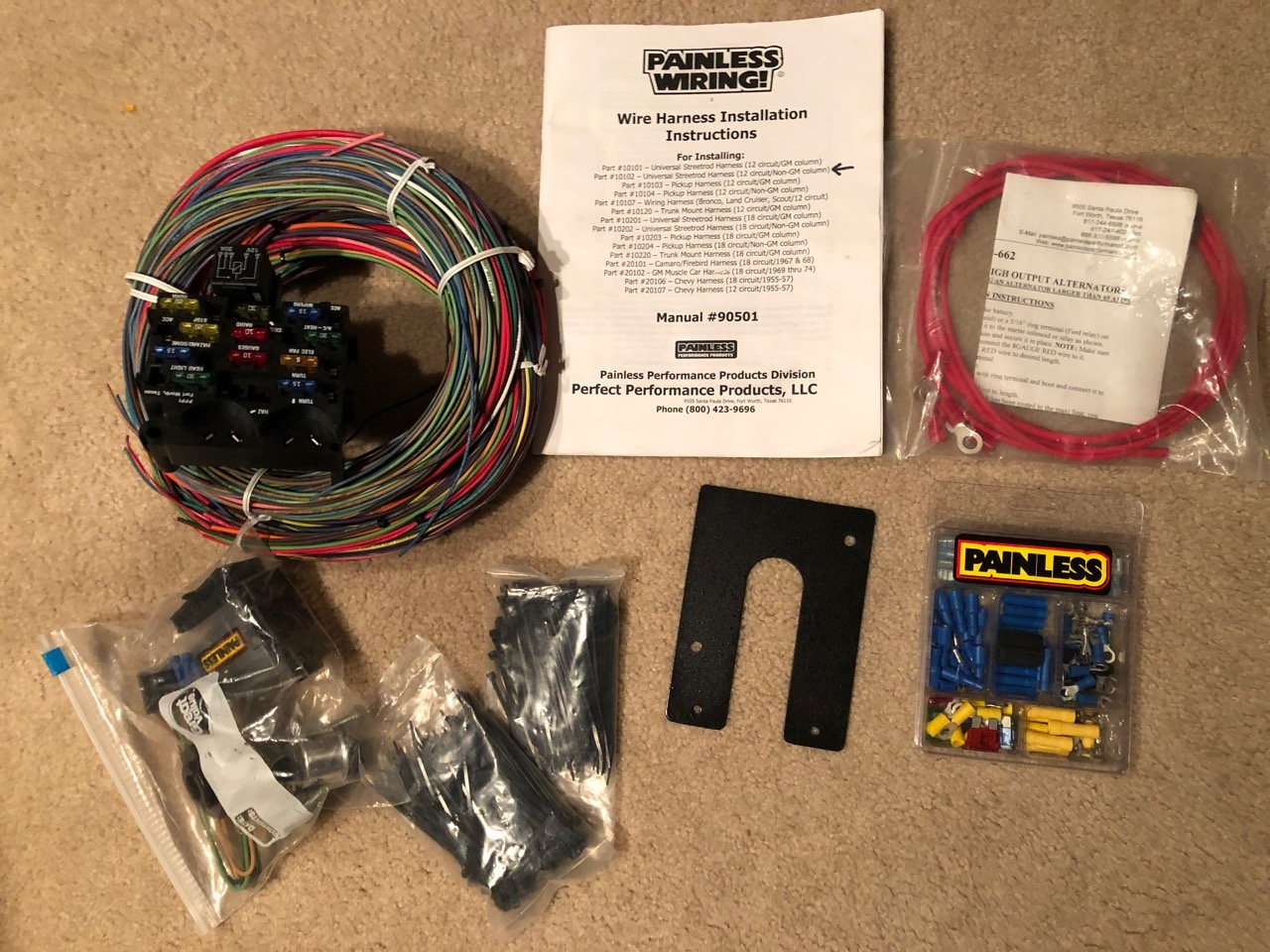 painless wiring harness and chassis painless wiring 12 circuit wiring harness 10102 ls1tech camaro  painless wiring 12 circuit wiring