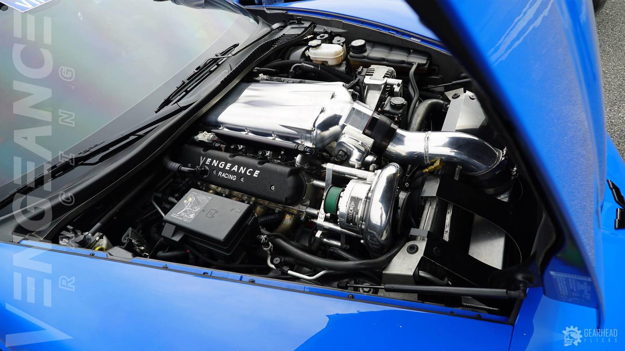 ECS C6 Z06 Supercharger System (2200x) - Polished