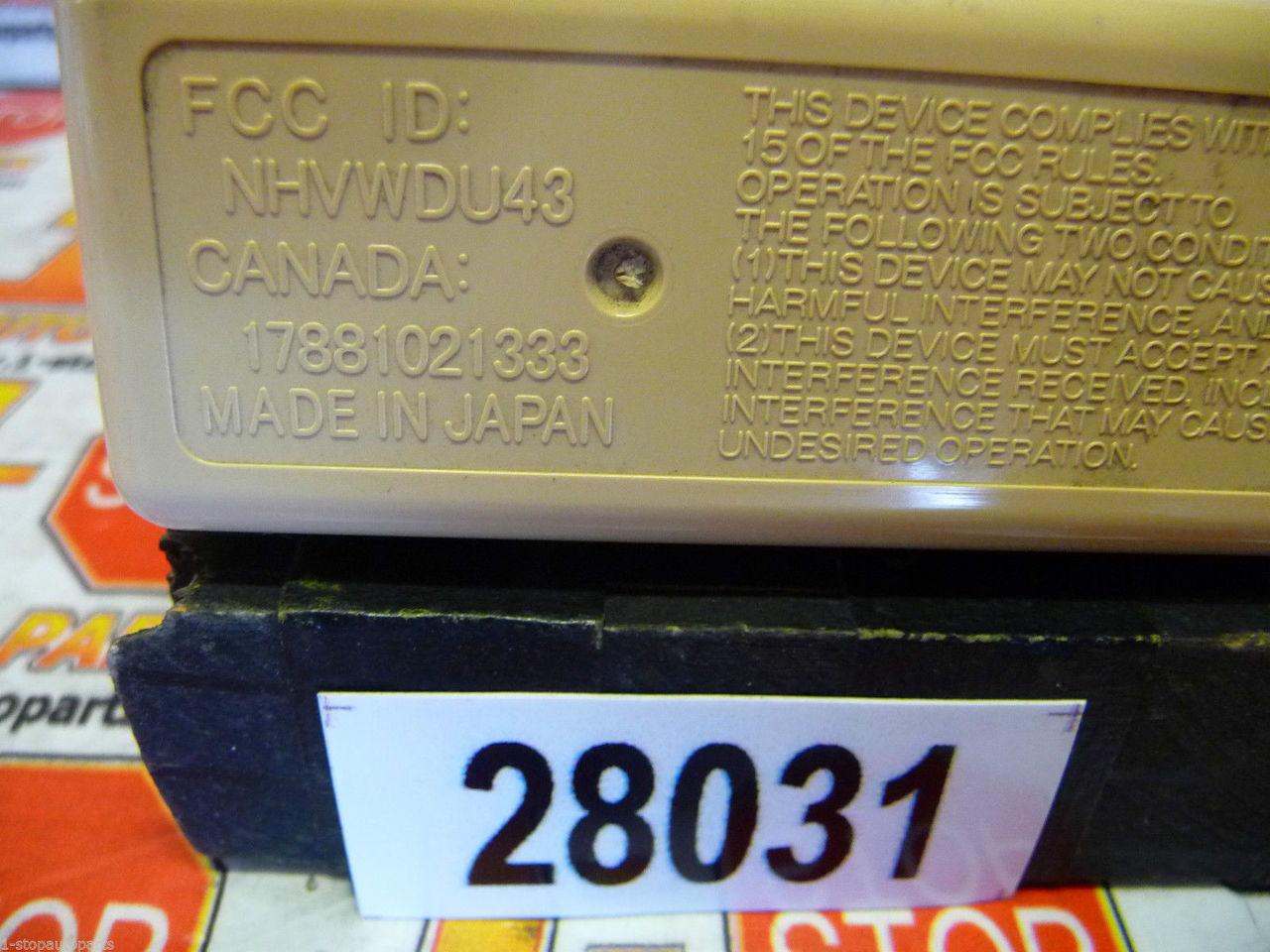 2002nissanmaximakey 2000 2001 2002 2003 Nissan Maxima Remote Key