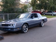 84 ss. Recently put stock wheels back on .