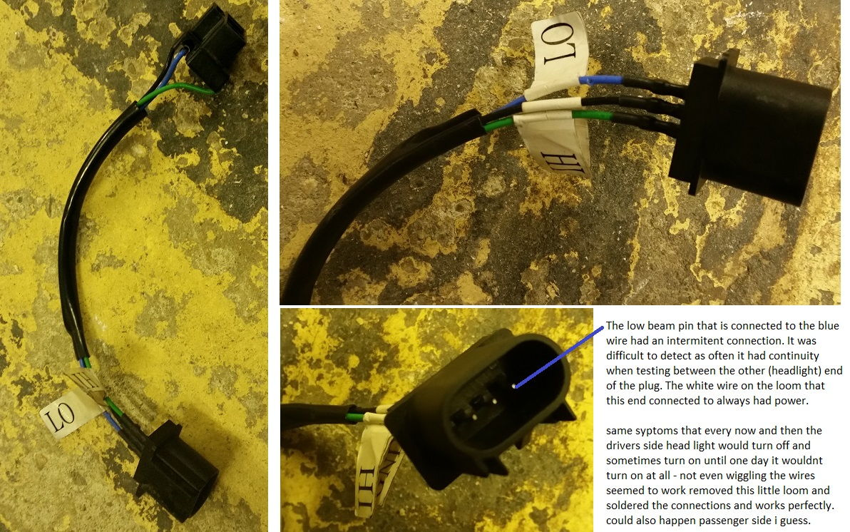 07 Drivers Headlight Wont Work Low Beam Only S197 Fuse Diagram Gavin