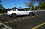 2010 silver stang