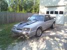 Garage - silver stang